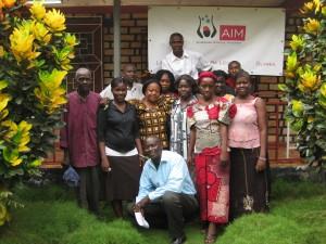 Mitarbeiterinnen und Mitarbeiter AIM