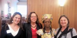 Leiterin des AIM-Projektes in Sierra Leone