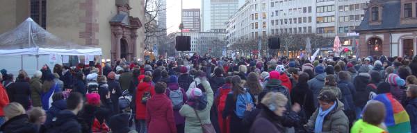 Tanzdemo Frankfurt 14.2.18